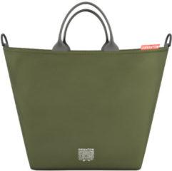 Groene Greentom Shopping Bag Olive