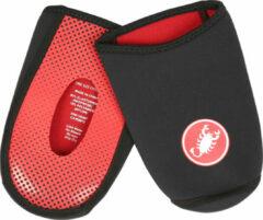 Castelli - Toe Thingy 2 - Overschoenen maat One Size, zwart/rood