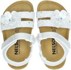 Nelson by Orange Babies meisjes sandaal - Zilver - Maat 24