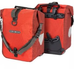 Rode Ortlieb Sport-Roller Plus 25L (set van 2) signal red/dark chili backpack
