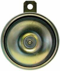 Gouden Carpoint elektrische claxon 90 mm 12V 102 dB
