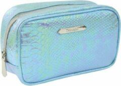 Donegal Blauwe Crocco Kleine Toilettas 4990