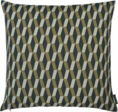 The Cushion Shop Optic - Sierkussen - 44x44 cm - Zwart/Grijs