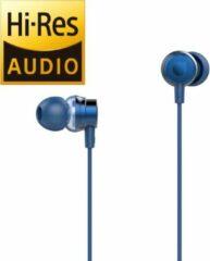 Tuddrom H2 Blauw- Hi-Res In Ear Oordopjes met Microfoon - Dual High Quality Dynamic Drivers - 2 Jaar Garantie