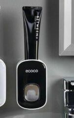 Tandpasta dispenser pro - tandpastadispenser - tandpasta dispenser zwart - ecoco tandpasta dispenser - tandpasta uitknijper - tandpasta knijper