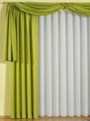 Garnitur mit Kräuselband, Tornby Wirth grün