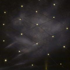 Witte Konstsmide 3751 - Lichtnet - 120 lamps micro LED net - 150x250 cm - 24V - voor buiten - warmwit