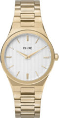 CLUSE CW0101210002 Horloge Vigoreux Snow White Gold 33 mm