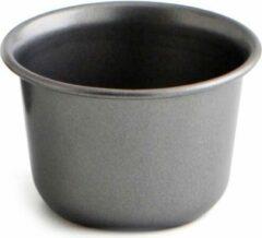 Antraciet-grijze Quid ronde bakvorm / cakevorm Ø 9,5 cm RVS antraciet