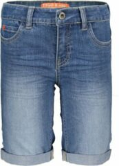 TYGO & vito slim fit jeans bermuda stonewashed