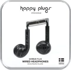 Happy Plugs Earbud Plus - In-ear oordopjes - Zwart/Marble
