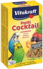 Vitakraft Parkiet Fruit-Cocktail - Vogelsnack - 200 g