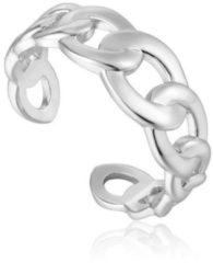 Ania Haie Ringen AH R021-01H 925 Sterling Zilver Chain Reaction Zilverkleurig