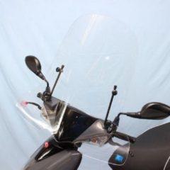 Windscherm Kymco VP50 helder hoog, incl. bevestigingset-Scoot Care Original.