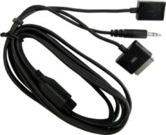 Zwarte Parrot PI020162AC Muziek Kabel voor Parrot MKi9000/9100/9200 - Zwart