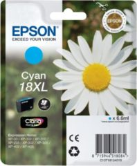 Cyane Epson 18XL (T1812) - Inktcartridge / Cyaan / Hoge Capaciteit
