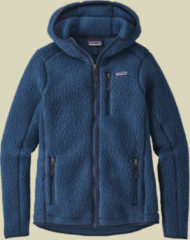 Patagonia Retro Pile Hoody Women Damen Fleecejacke Größe L stone blue