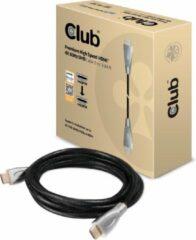 Club 3D Club3D HDMI Aansluitkabel 3.00 m CAC-1310 Gesleeved Zwart [1x HDMI-stekker - 1x HDMI-stekker]