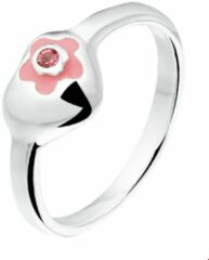 Roze The Kids Jewelry Collection The Jewelry Collection Ring Hart - Zilver