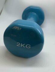 Royal Fit Dumbbellset kleur Petrol 2x2kg