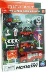 ARO toys Brandweervoertuigen speelset 1:87 2ass