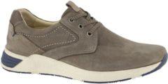 Bruine Gallus Heren Taupe leren sneaker - Maat 40