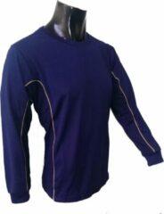 Marineblauwe KWD Shirt Diablo lange mouw - Navy - Maat 140