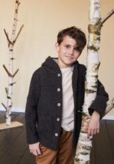 Hessnatur Kinder Shirt aus Baumwolle mit Schurwolle – gelb – Größe 134/140