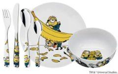 Gele WMF Kids 1286079964 - Bestekset 6-delig Minions