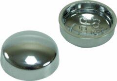 GoodlineNL Afdekkapjes voor schroeven - 13mm - Chroom