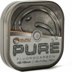 Transparante Guru Pure Fluorocarbon - 0.10mm - 50m
