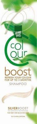 Afbeelding van Hennaplus Colour Boost haarkleuring - silver