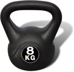 Zwarte VidaXL Kettlebell 8 kg