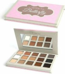 Grijze Beauty Creations Butterfly Eyeshadow Palette