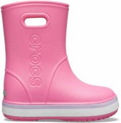 Roze Crocs Crocband Regenlaars Junior