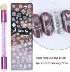 JobaStores® Nagellak Stempelset Easy Stamp 02 (Kerst)
