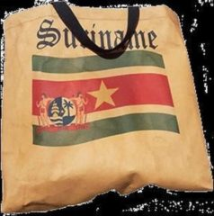 Bruine LEBO tassen Suriname tas