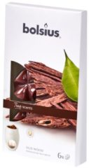 Bruine Bolsius True Scents Wax Melts - Oud Wood - 6 stuks