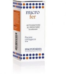 Microfarma Microfer integratore alimentare a base di Ferro Vitamina C e Acido Folico 15 ML