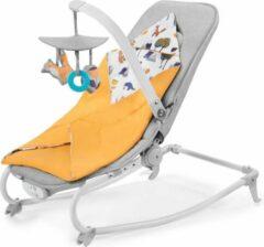 Gele Kinderkraft Wipstoel - schommelstoel Felio Forest Yellow