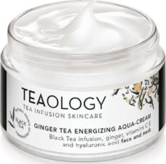 Teaology Ginger Tea Energizing Aqua-Cream Gezichtscrème 50 ml