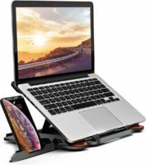 Groene Greenure ergonomische laptopstandaard – in hoogte verstelbaar –tot 17 inch - inklapbaar