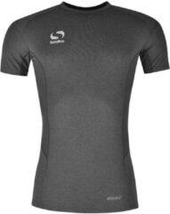 Grijze Sondico ondershirt korte mouw - Heren - Grey Marl - L