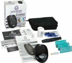 Diatesse Keto-startpakket, 10 ketonenstrips, 10 glucosestrips, 10 lancetten, prikpen, opbergtasje - Gezond Sapvasten / detox - keto - koolhydraatarm