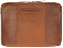 Bruine Laptoptas Chesterfield Richard Leather Sleeve 13.3 inch