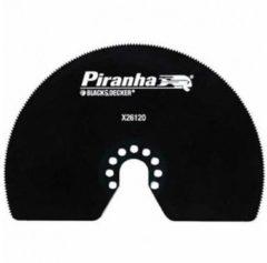 Piranha BLACK+DECKER Präzissions-Segmentsägeblatt, HCS, 100 mm für Multitool X26120-XJ
