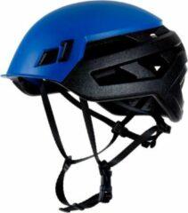 Blauwe Mammut Wall Rider Ultralichte klimhelm dankzij de EPP-kunststof Wit 56-61cm M/L