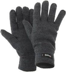 Antraciet-grijze Gloves&Co Thinsulate gebreide handschoen - heren - grijs - maat XL