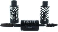 Bruine Max Factor Mascara Excess Volume Mascara - Black Brown