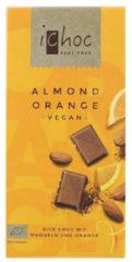 Ichoc Almond orange vegan 80 Gram